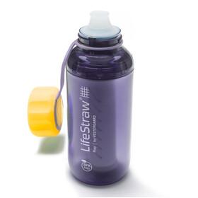 LifeStraw Play Drinkfles geel/violet